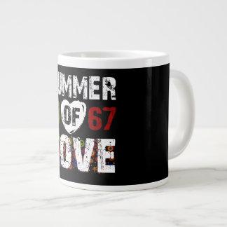Sommer von Liebe 1967 Jumbo-Tasse