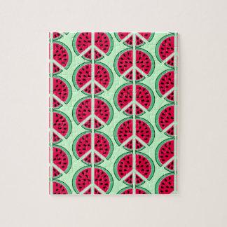 Sommer-Wassermelone Puzzle