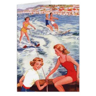 Sommer-Wasserski-Spaß Karte