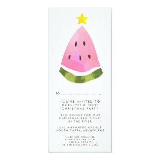 Sommer-Weihnachtsweihnachtsarbeits-Personal-Party 10,2 X 23,5 Cm Einladungskarte