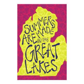 Sommer werden in den Great Lakes - Kinder gemacht! Briefpapier