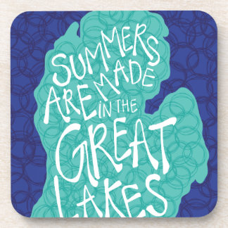Sommer werden in den Great Lakes - Schürze gemacht Untersetzer