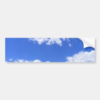 Sommer-Wolken Autoaufkleber