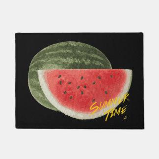 Sommer Zeit Wassermelone Türmatte