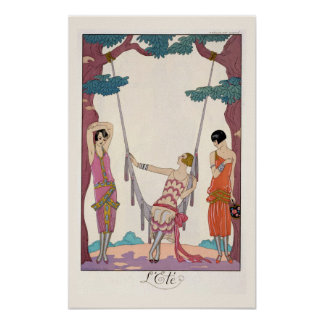 """Sommer, """"Zeitungdu von der Bon-Tonne"""", 1925 Plakat"""
