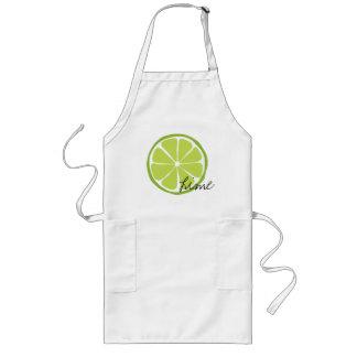Sommer-Zitrusfrucht Limones Arpon Lange Schürze
