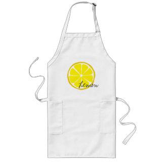 Sommer-Zitrusfrucht-Zitrone Arpon Lange Schürze