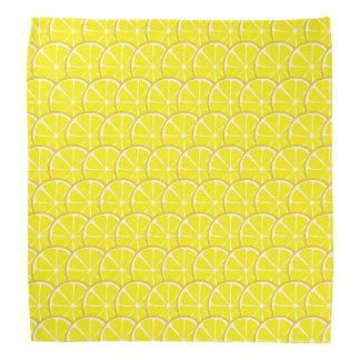 Sommer-Zitrusfrucht-Zitronen-Bandanna #2 Halstuch
