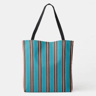 Sommer-Zuhause-Blau-Orange-Tasche-Schulter-Tasche Tasche