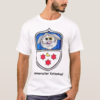 sommerach katzenkopf, katze, cat shirt t-shirt