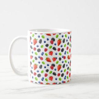 Sommerbeeren Kaffeetasse