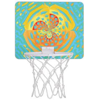 Sommerfarben Mini Basketball Netz
