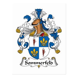 Sommerfeld Familienwappen Postkarte