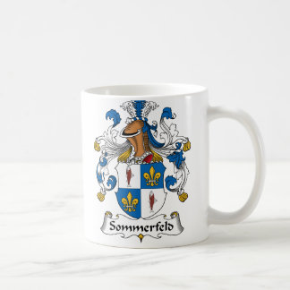 Sommerfeld Familienwappen Tasse