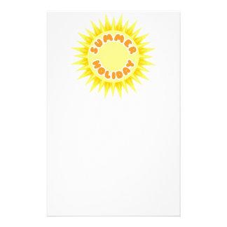 Sommerferien Bedrucktes Büropapier