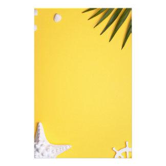 Sommerferien-Ferien-Hintergrund Briefpapier