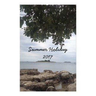 Sommerferien-Mittelmeer-Fotografie Individuelle Druckpapiere