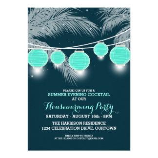 Sommerhousewarming-Cocktail-Party Einladungen