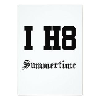 Sommerzeit 12,7 X 17,8 Cm Einladungskarte