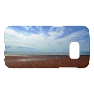 Sommerzeit an Rushton Strand