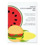 Sommerzeit GRILLEN Einladung