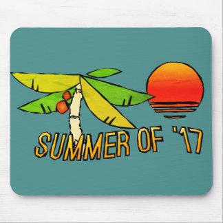 Sommerzeit - perfekter Strand-Sonnenuntergang Mousepad