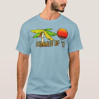 Sommerzeit - perfekter Strand-Sonnenuntergang - T-Shirt