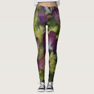 SommerzeitHydrangeas Leggings