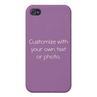 Sonderbare Hülsen-Schablone iPhone 4 Case