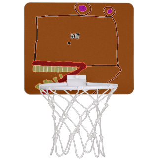 Sonderbarer Bär Mini Basketball Ringe