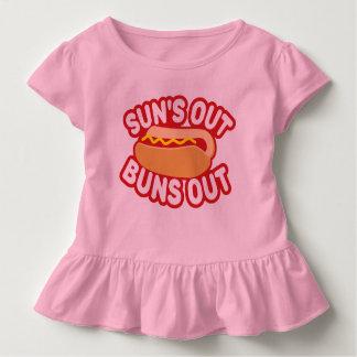 Sonne-heraus Brötchen heraus Kleinkind T-shirt