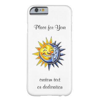 Sonne-Mondgesicht des coolen Barely There iPhone 6 Hülle