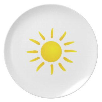 Sonne Party Teller