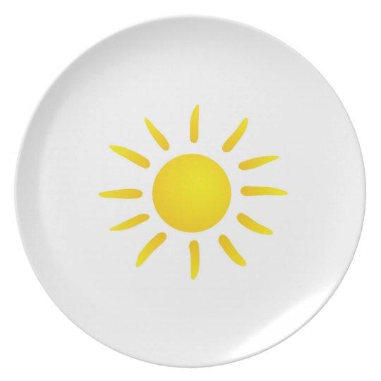 Sonne Teller