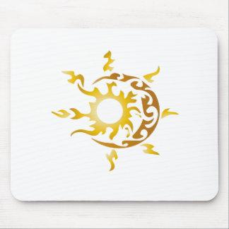 Sonne und Mond Mousepads
