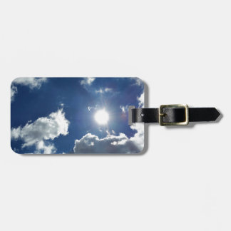 Sonne und Wolken Gepäckanhänger