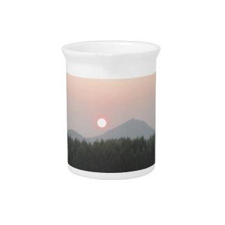Sonneaufstiegs-Sonne-Set Krug