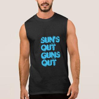 Sonnen heraus ärmelloses shirt