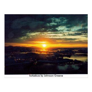 SONNEN Sie SET GJ, kotzebue durch Johnson Greene Postkarte