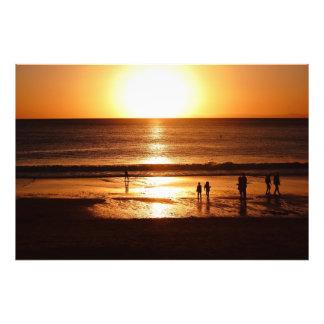 Sonnenanbeter Fotodruck