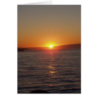 Sonnenaufgang am Hafen Karte