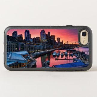 Sonnenaufgang am Pier 66, der unten auf OtterBox Symmetry iPhone 8/7 Hülle
