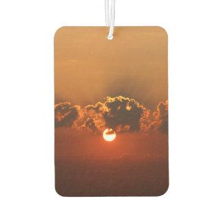 Sonnenaufgang-Art Lufterfrischer