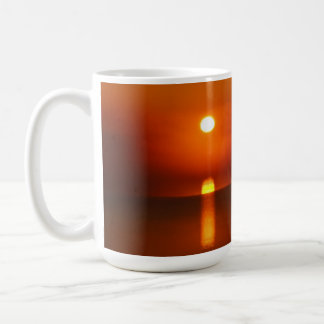 Sonnenaufgang auf dem Potomac 15 Unze. Klassische Kaffeetasse