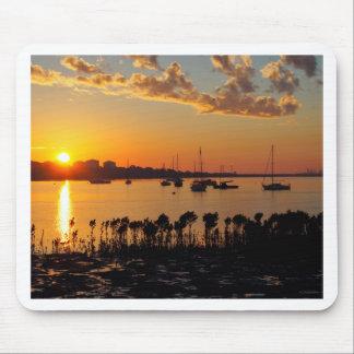Sonnenaufgang-Bucht Mousepads