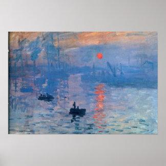 Sonnenaufgang - Claude Monet Posterdrucke
