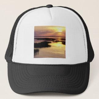 Sonnenaufgang-Dämmerung, die St Joseph Florida Truckerkappe