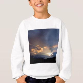 Sonnenaufgang-Dämmerungs-Himmel Cades Bucht-großes Sweatshirt