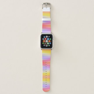 Sonnenaufgang-Farbweibliches abstraktes Muster Apple Watch Armband