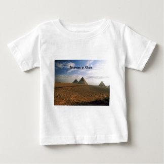 Sonnenaufgang Gisehs Ägypten Baby T-shirt